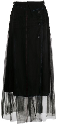 Maison Margiela Layered Tulle Skirt