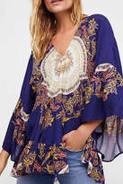 Free People Sunset-Dreams Printed Tunic