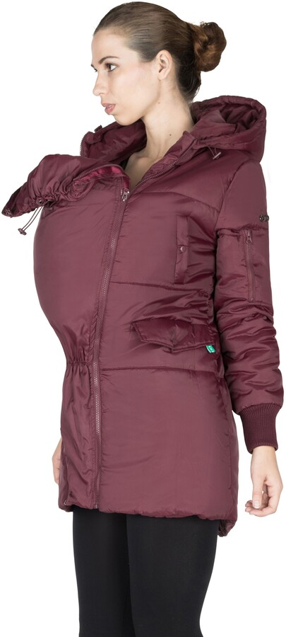 Thumbnail for your product : Modern Eternity 3-in-1 Hooded Maternity Puffer Jacket