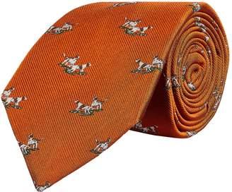 Purdey Silk Hunting Dogs Tie