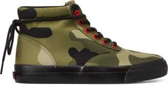 Ralph Lauren Bryn Camo High-Top Sneaker