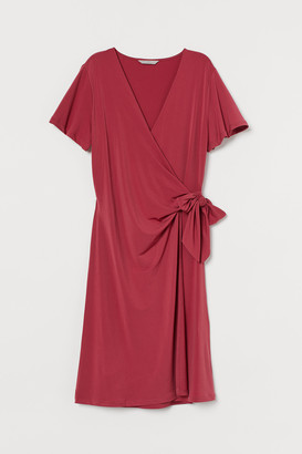H&M Jersey wrap dress