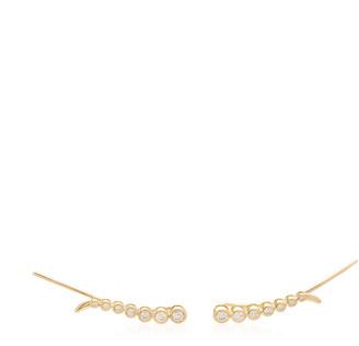 ONDYN Astral 14K Gold Diamond Earrings