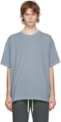 John Elliott Blue University T-Shirt