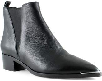 Marc Fisher V-Gored Leather Boots