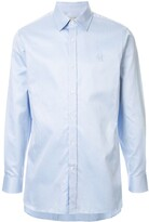 Gieves & Hawkes logo embroidered shirt