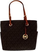 Michael Kors Jet Set Item East/West Signature Tote