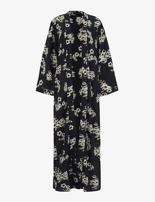 AllSaints Carine Jasmine crepe kimono