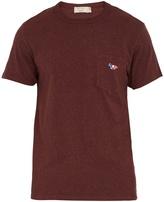 MAISON KITSUNÉ Patch-pocket cotton T-shirt