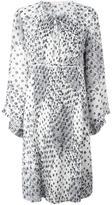 See by Chloe printed pleated dress - women - Viscose - 36