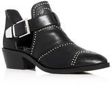 Vince Camuto Raina Studded Low Heel Booties