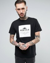 Penfield Kemp Box Logo T-Shirt in Black