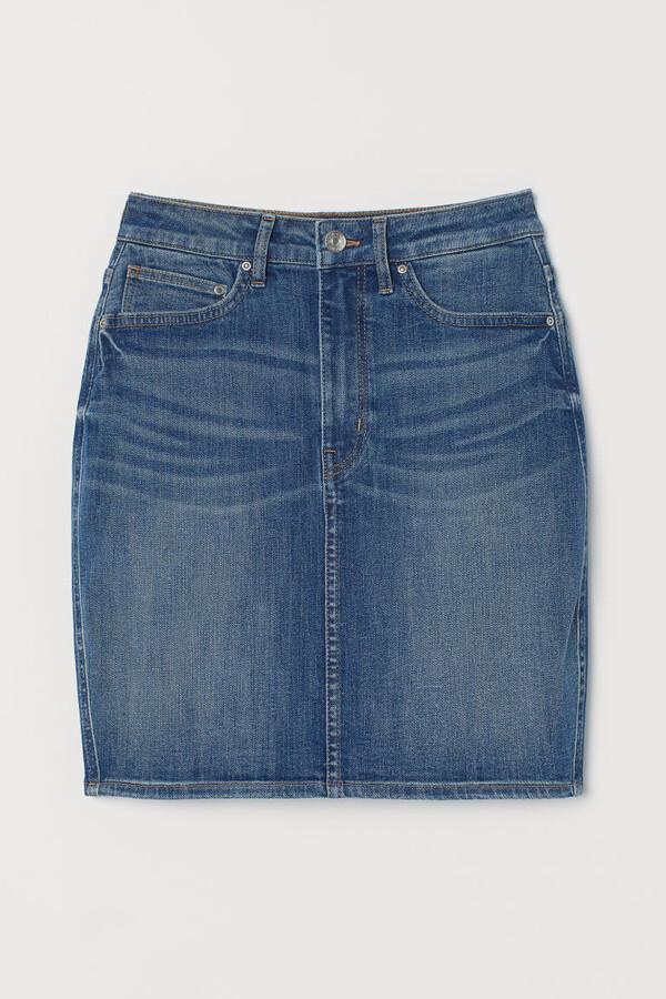 Thumbnail for your product : H&M Denim skirt