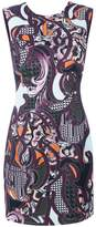 Versace Baroccoflage cady dress