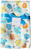 Baby Gear Plush Baby Blanket By | 30 X 40 (Owls) by