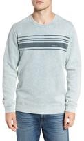 RVCA Men's Stripe Crewneck Sweatshirt