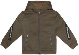 Emporio Armani Kids Zip-up hoodie
