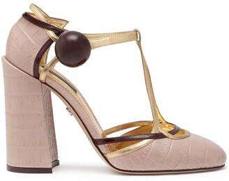 Dolce & Gabbana T-bar high-heel sandals
