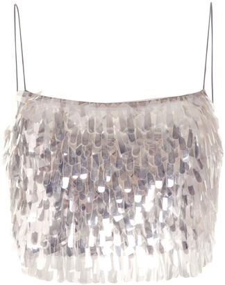 Rachel Gilbert Tayah sequin-embellished top