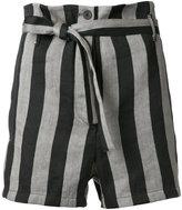 Ann Demeulemeester Crawford shorts - women - Linen/Flax/Polyester - 38