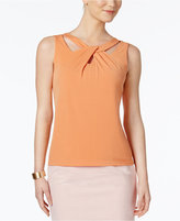 Nine West Twist-Neck Cutout Shell
