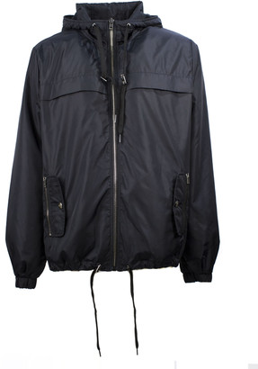 Moschino Black Technical Fabric Jacket