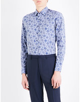Etro Paisley-patterned Slim-fit Cotton Shirt