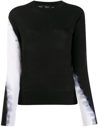 Proenza Schouler Tie Dye Crew Neck Sweater