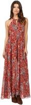 Brigitte Bailey Rashida High Neck Maxi Dress