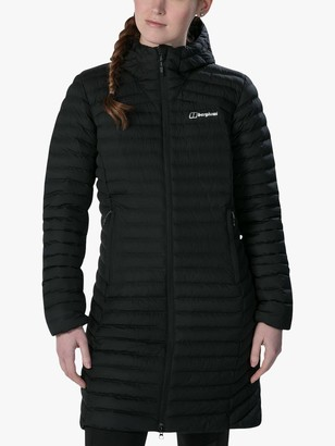 Berghaus Nula Micro Women's Long Water Resistant Jacket, Black