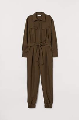 H&M Utility Jumpsuit - Green