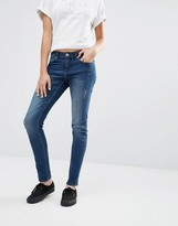 Cheap Monday Mid Snap Skinny Jeans L34