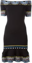 Peter Pilotto off the shoulder knit dress