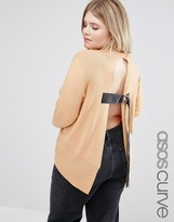 Asos Jumper With Open Back