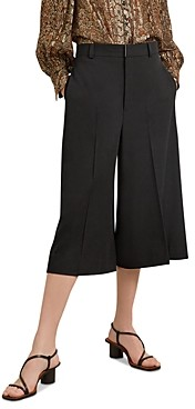 Gerard Darel Lilly Wide Leg Stretch Wool Blend Culottes