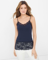 White House Black Market Wide Lace Cami