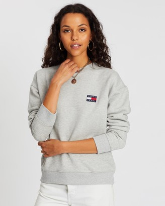 Tommy Jeans Tommy Badge Crew Sweatshirt