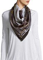 Saks Fifth Avenue Printed Silk Scarf