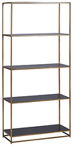 Terence Conran Content by Black Enamel Tall Bookcase, Black