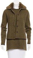 Loro Piana Fur-Trimmed Wool Jacket Set