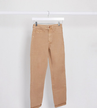 New Look Tall mom jean in mocha