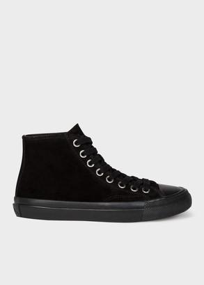 Paul Smith Women's Black Suede 'Carver' Sneakers
