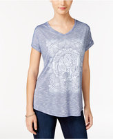 Style&Co. Style & Co. Elephant Graphic T-Shirt, Only at Macy's