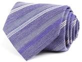 John Varvatos Textured Broken Multi Stripe Classic Tie