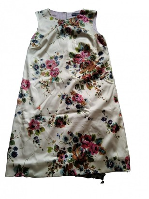 Dolce & Gabbana Multicolour Silk Dress for Women