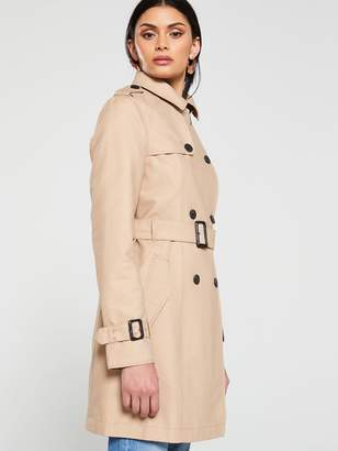 Jack Wills Mitford Classic Trench - Stone
