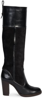 Chloé Emma Tall Suede & Leather Boots
