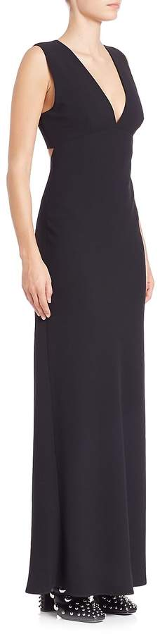 Alexander Wang Women's Solid Sleeveless Maxi Dress