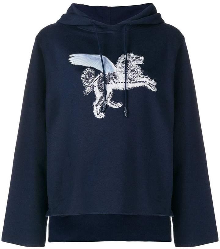 Golden Goose winged lion sweatshirt