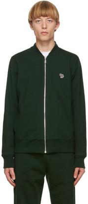 Paul Smith Green Zebra Bomber Jacket